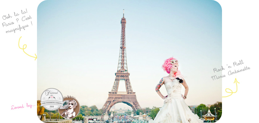 Paris french inspired wedding