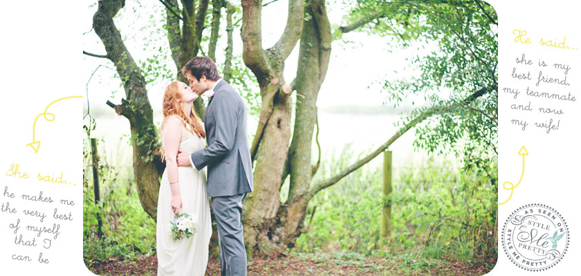 DIY rustic outdoor  wedding