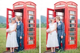 { Rhian + Toan } | A Fun & Colourful DIY Wedding | Gloucestershire