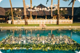 Bali Wedding + The Istana + Sibing and Lei